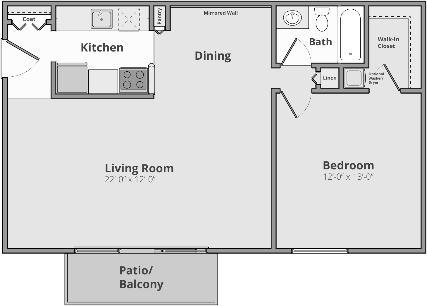 The Melrose Floor Plan