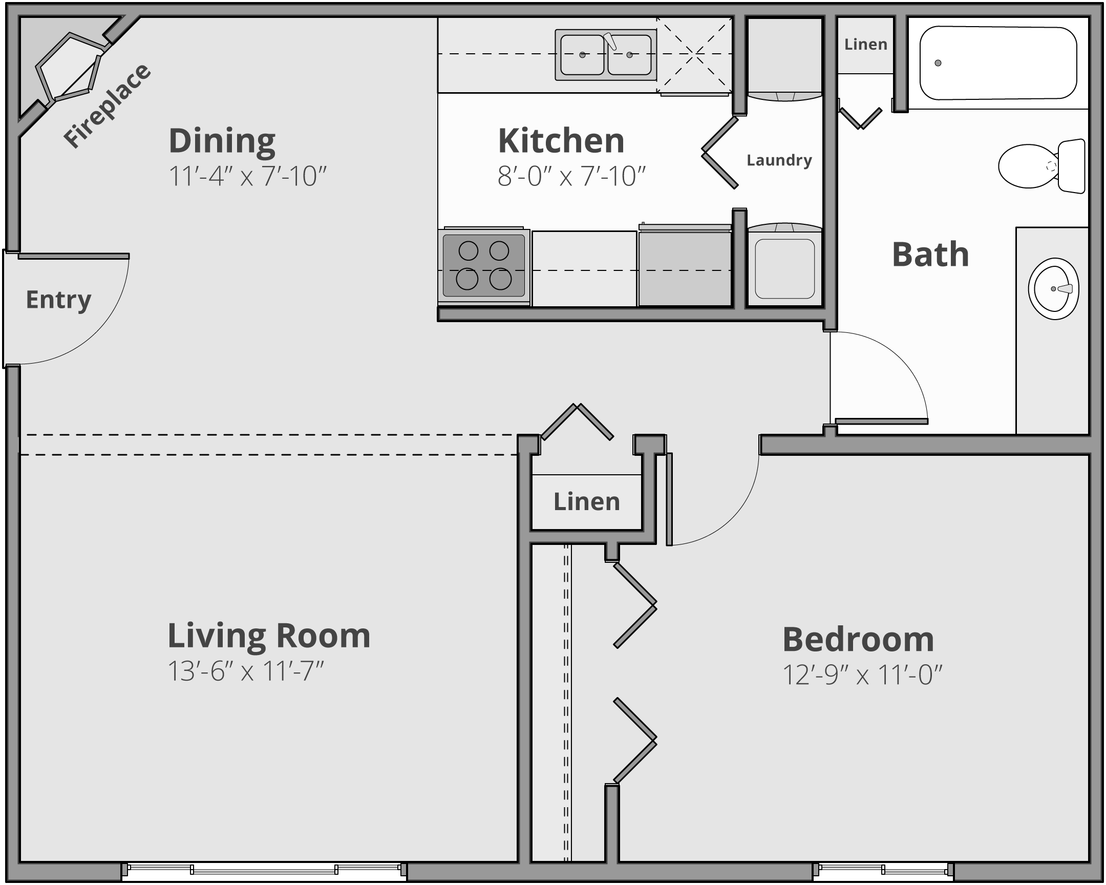 The Aaron Floor Plan