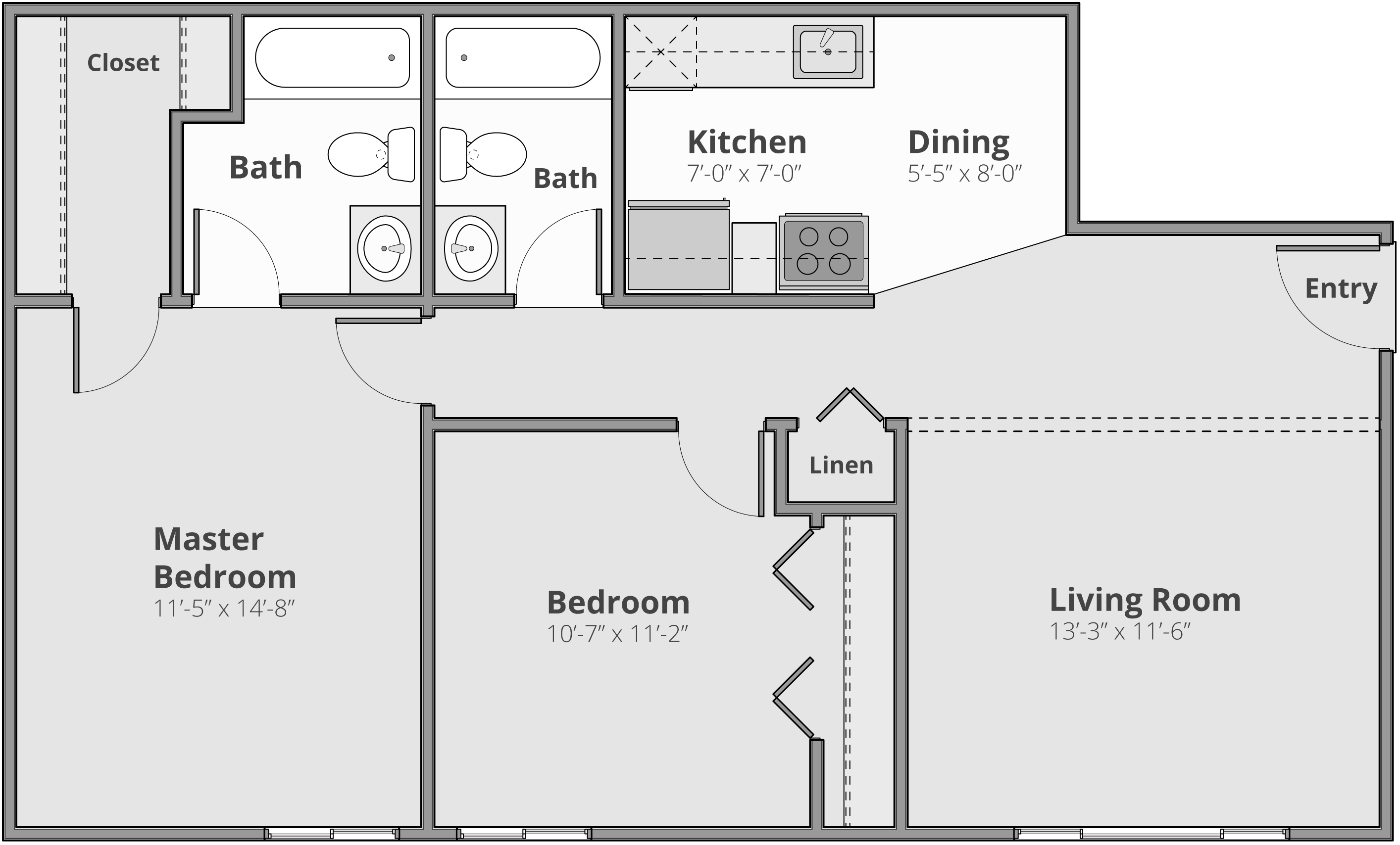The Robinson Floor Plan