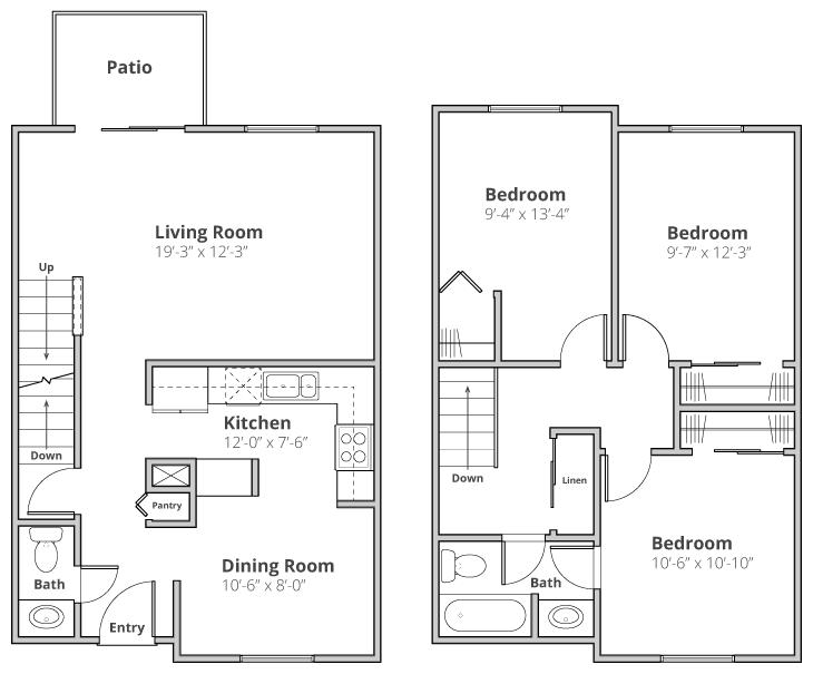The Bennington Floor Plan