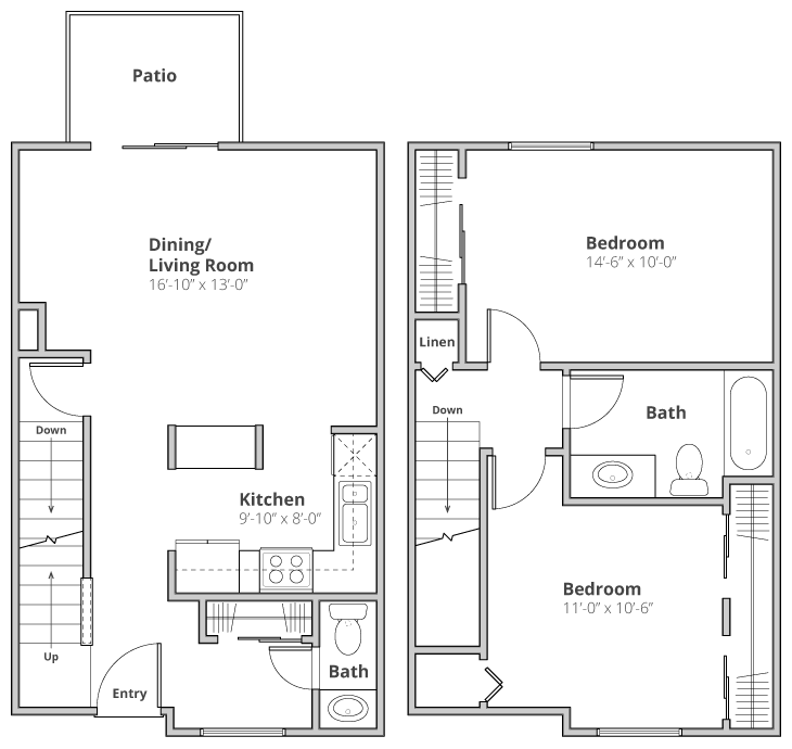 The Bridgeport Floor Plan