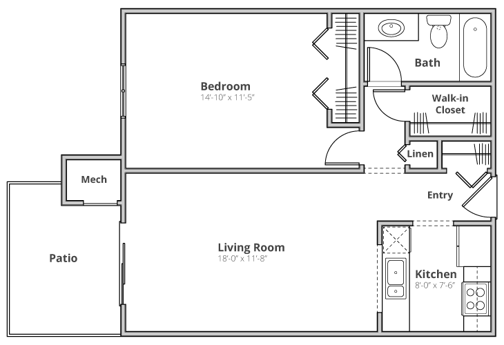 The Hampton Floor Plan