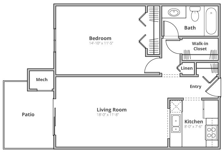 The Hampton Floor Plan