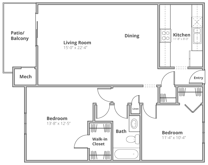 The Somerset Floor Plan