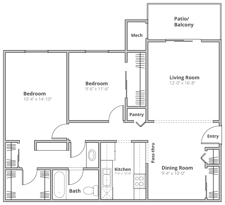 The Waterford Floor Plan