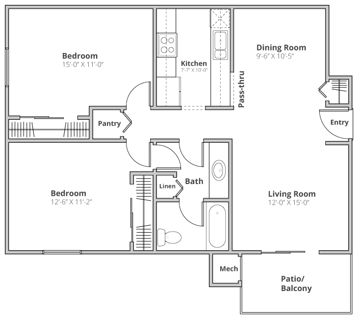 The Wellington Floor Plan