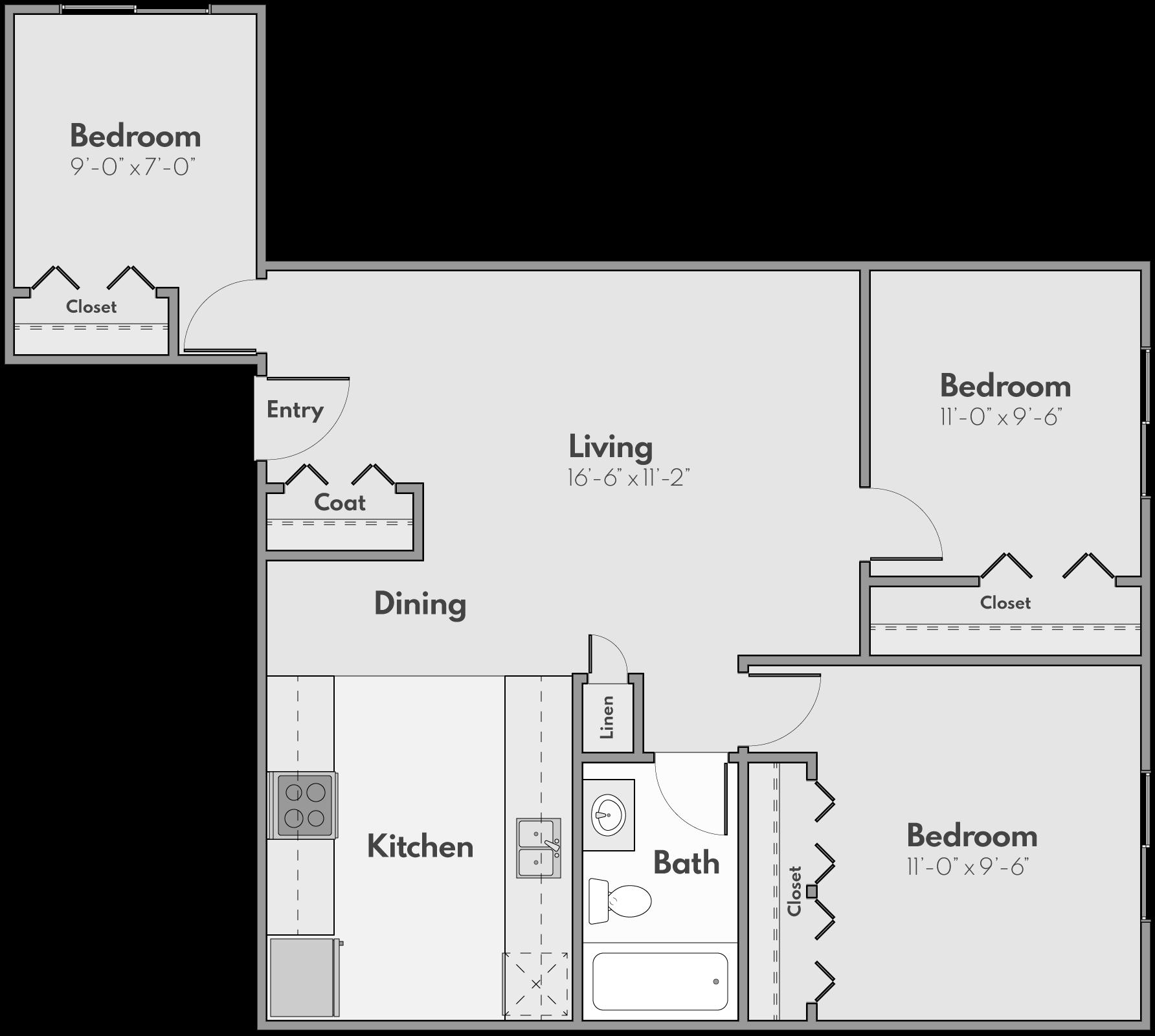 The Castle Floor Plan