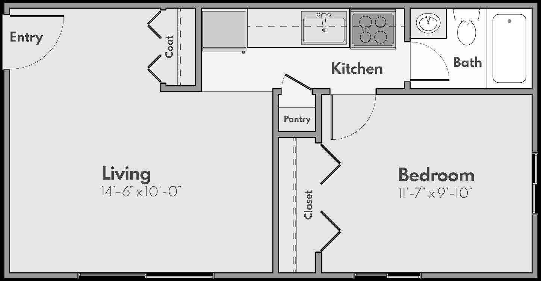 The Glade Floor Plan