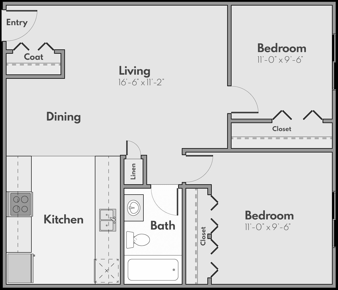 The Glen Floor Plan