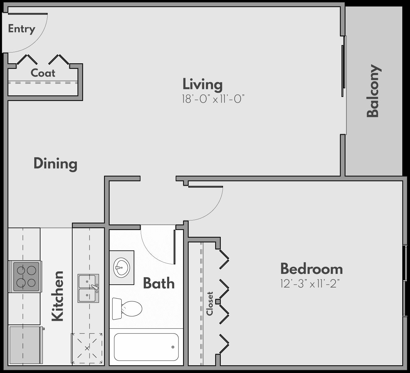 The Skye Floor Plan