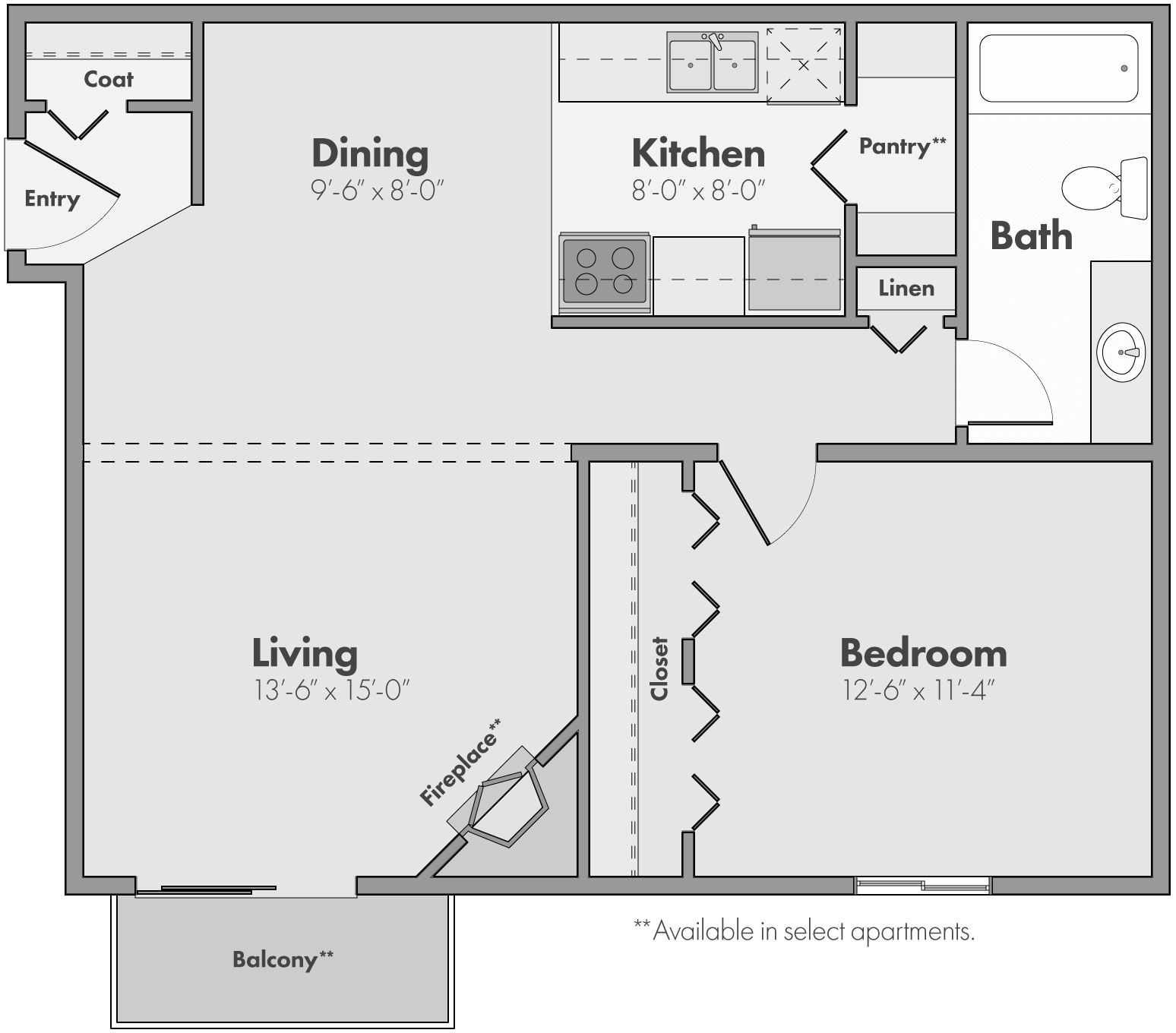 The Meadow Floor Plan