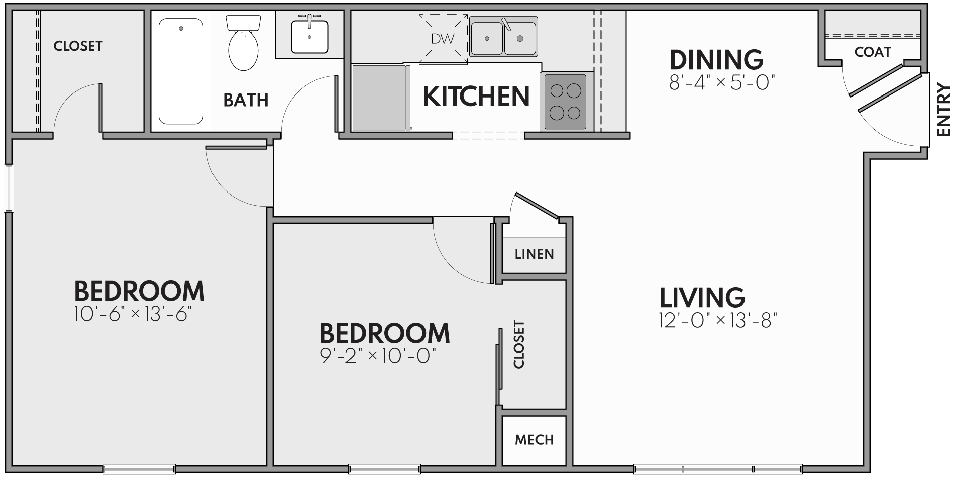 two bedroom apartments in grand rapids