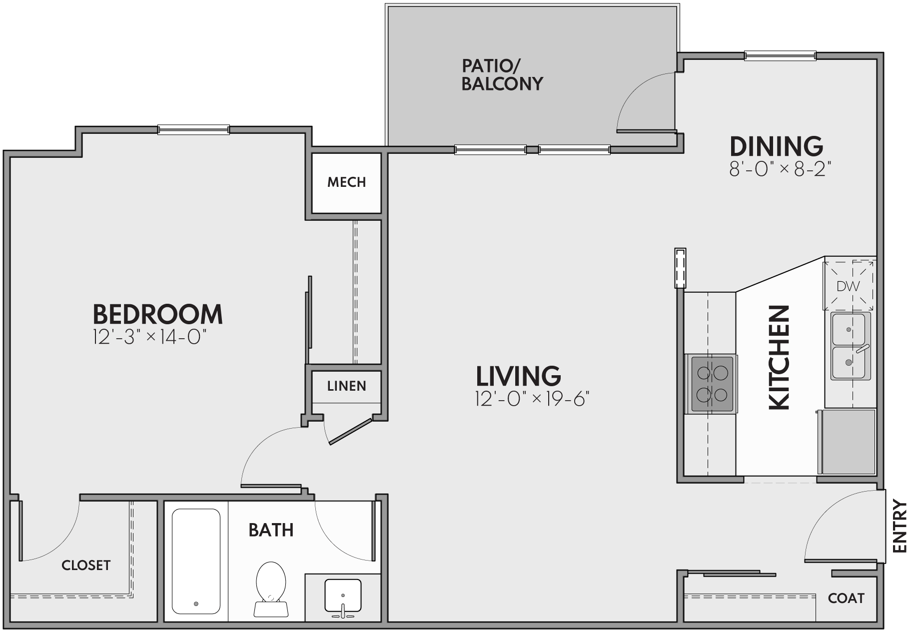 one bedroom grand rapids apartments