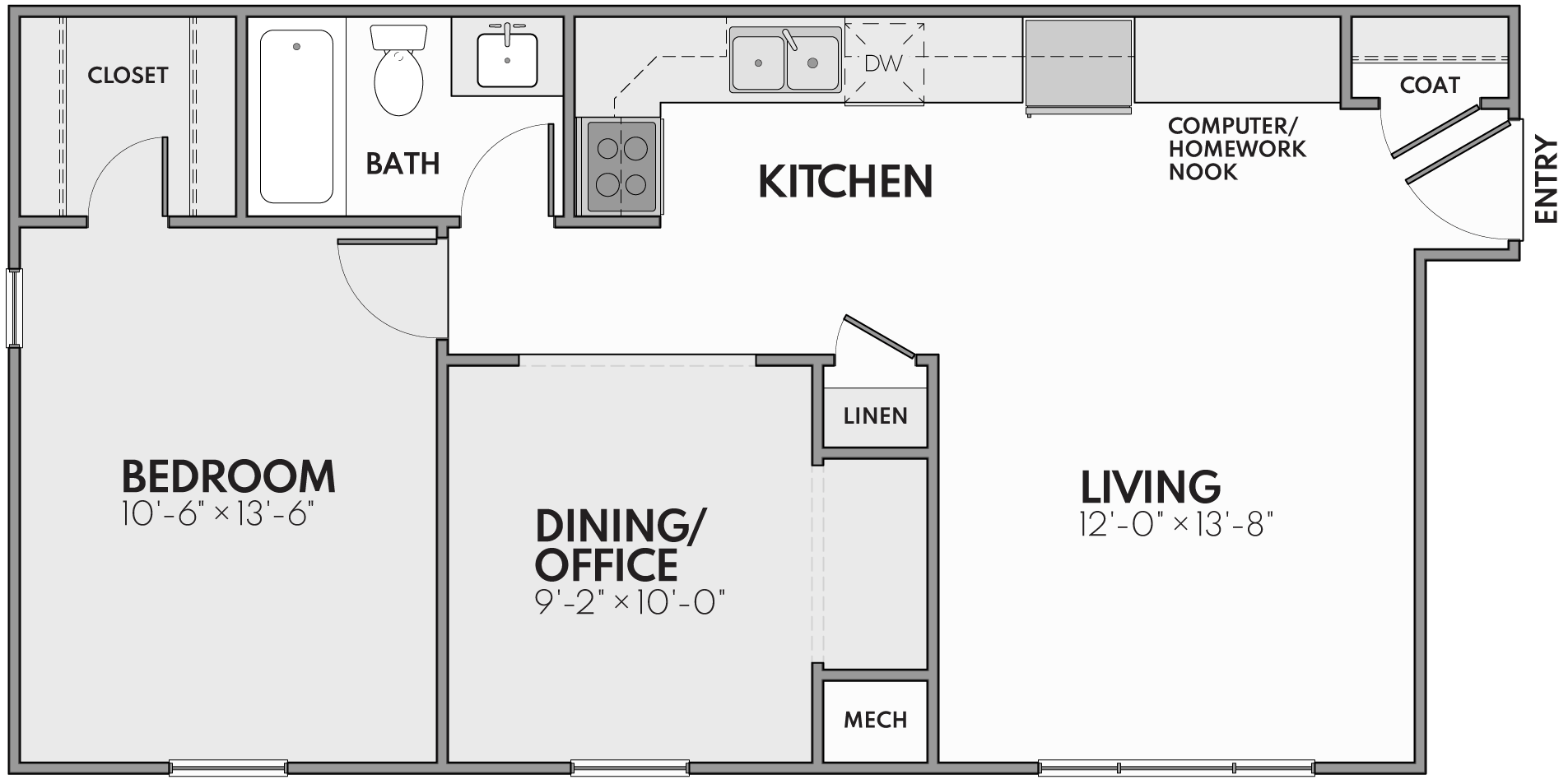 The New Haven Floor Plan