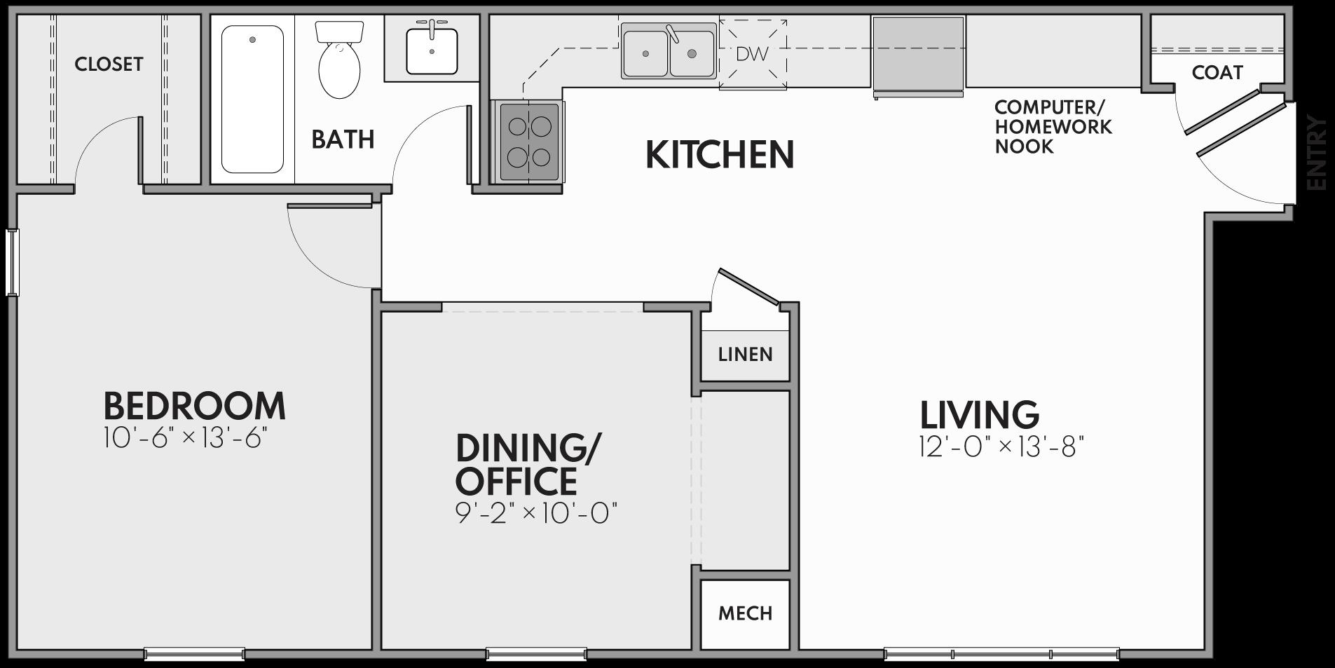 The New Haven Floor Plan