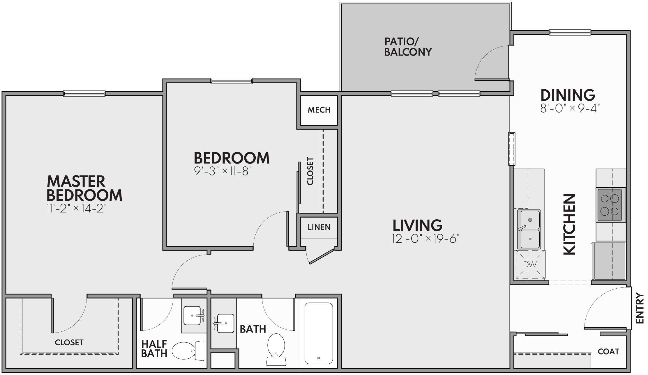 grand rapids two bedroom apartments