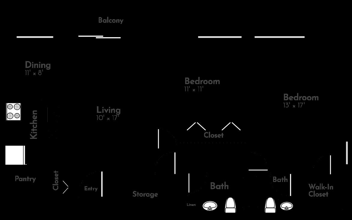 The Cherrywood Floor Plan