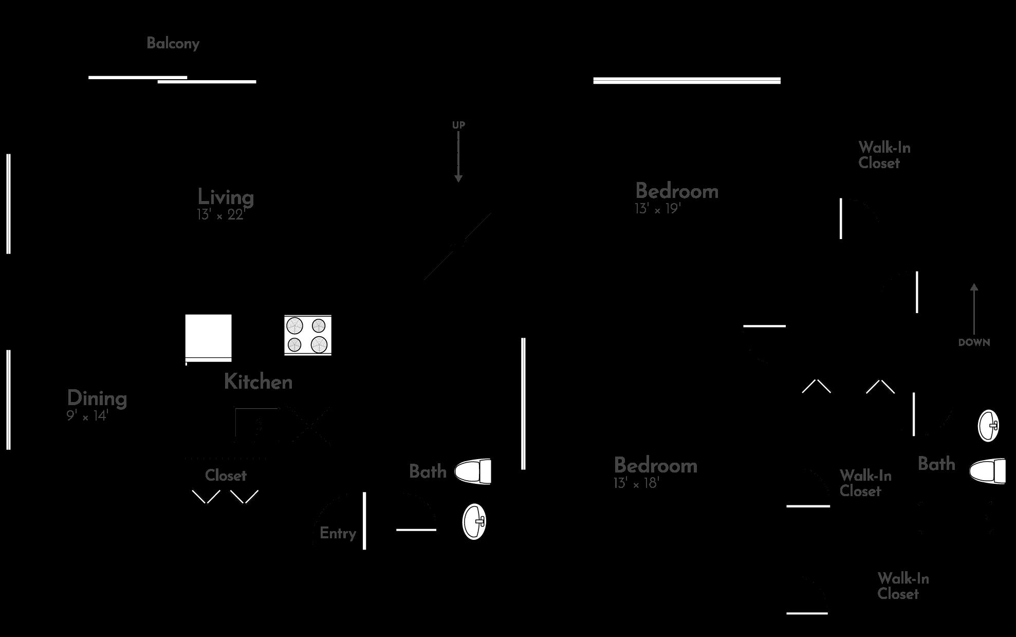 The Cottonwood Floor Plan