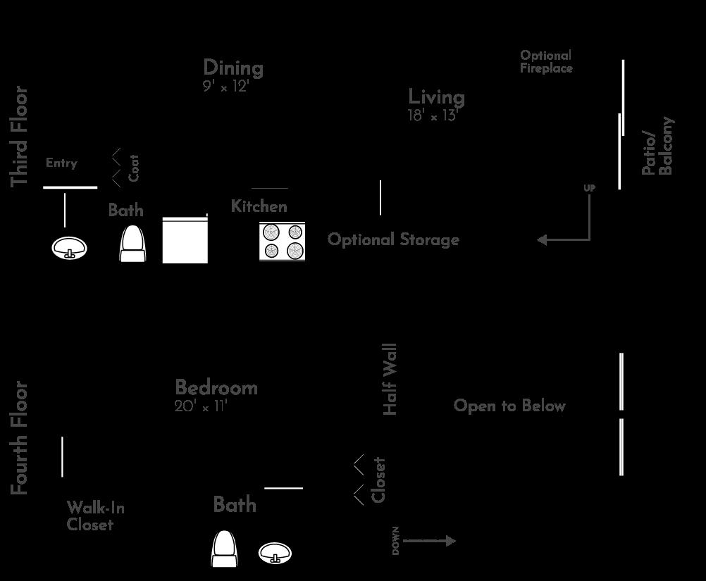 The Eagle Floor Plan