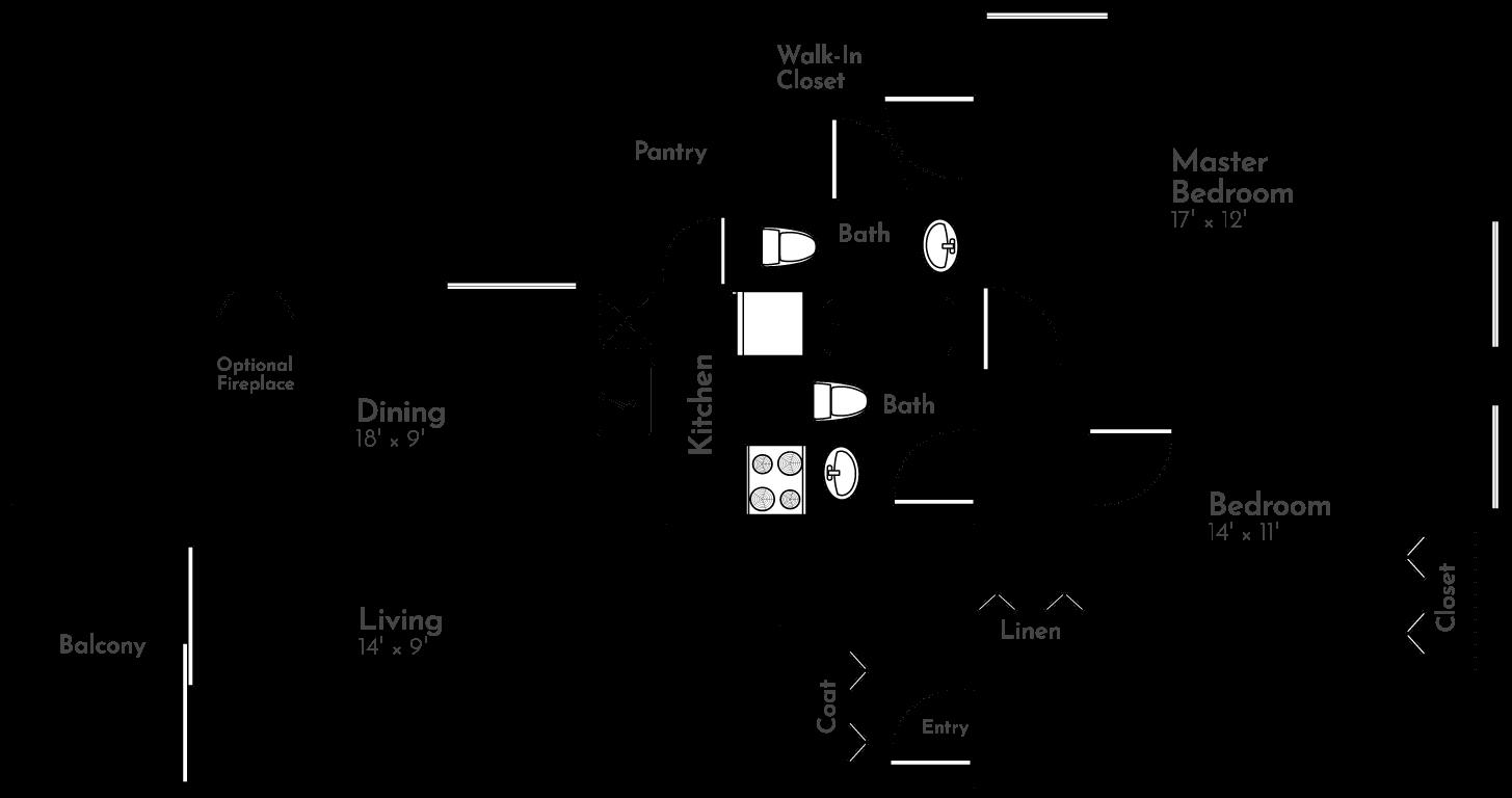 The Evergreen Floor Plan