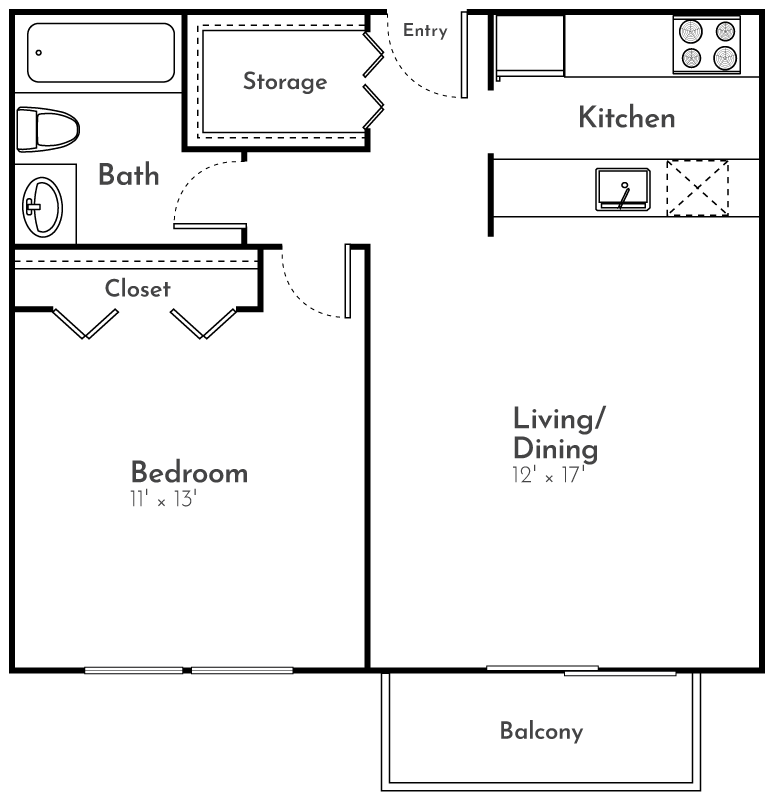 The finch Floor Plan