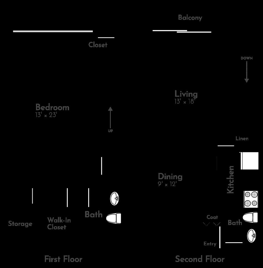 The Heron Floor Plan