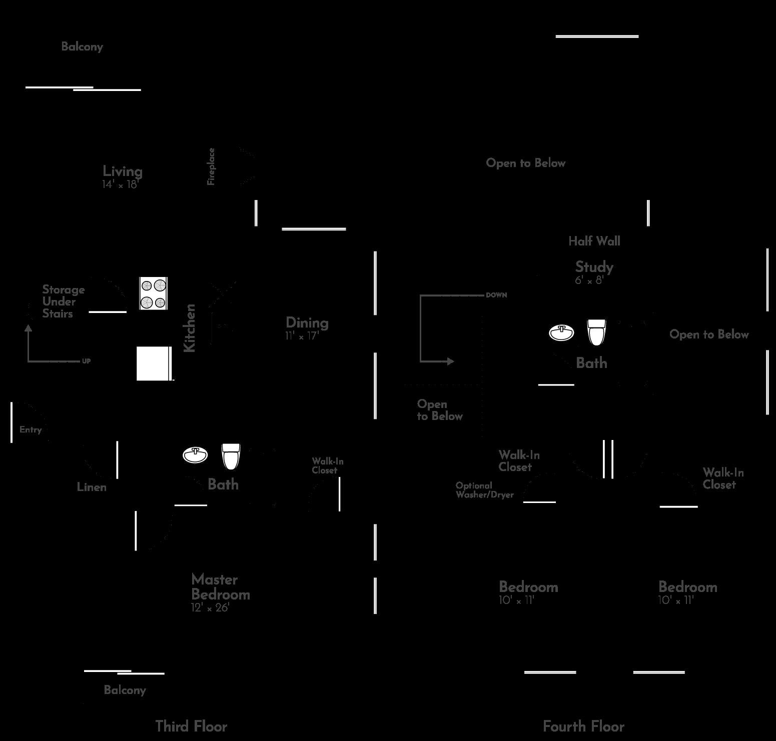 The Horizon Floor Plan