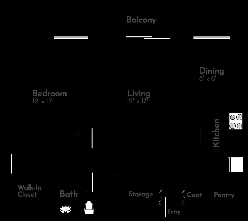 The Hummingbird Floor Plan