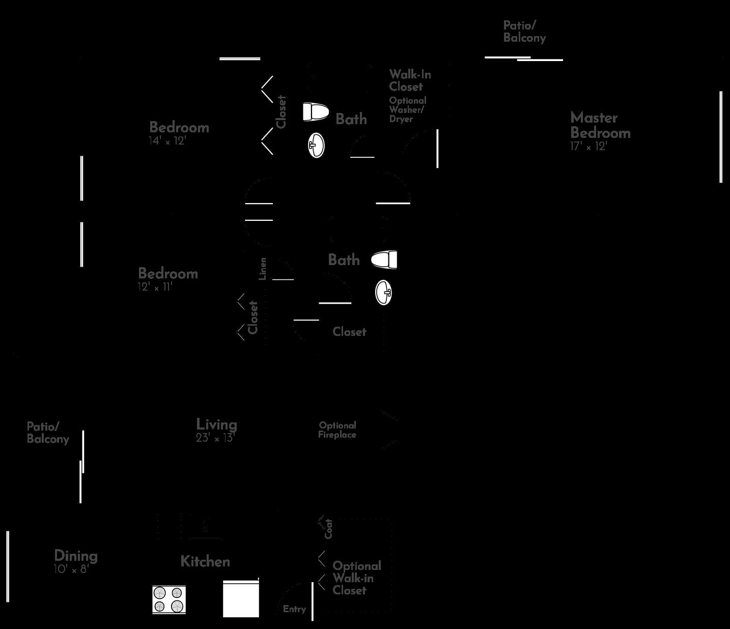 The Meadow Floor Plan