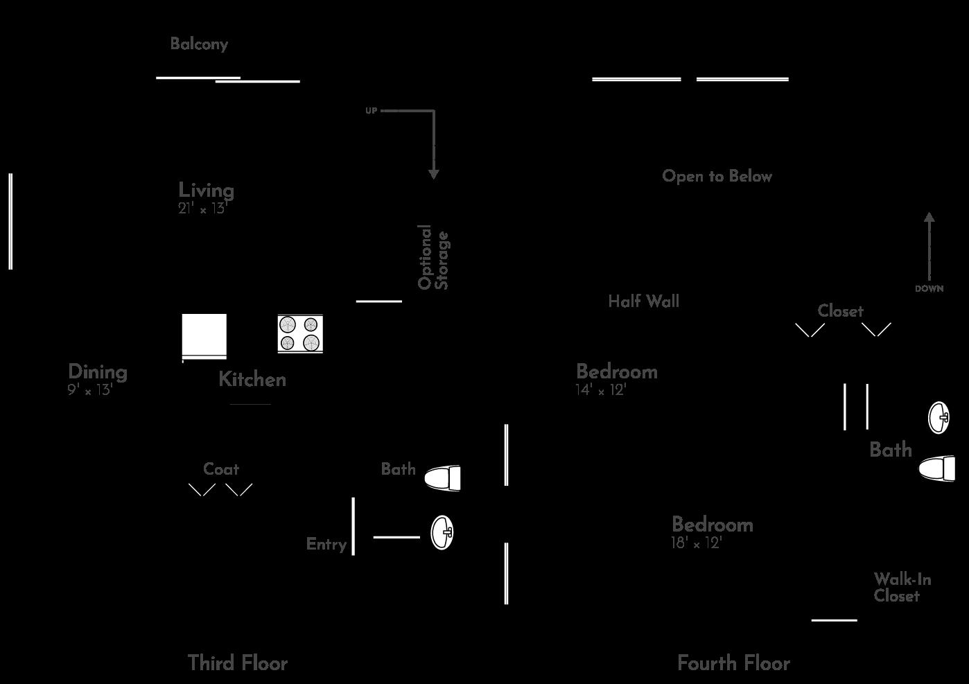 The poplar Floor Plan