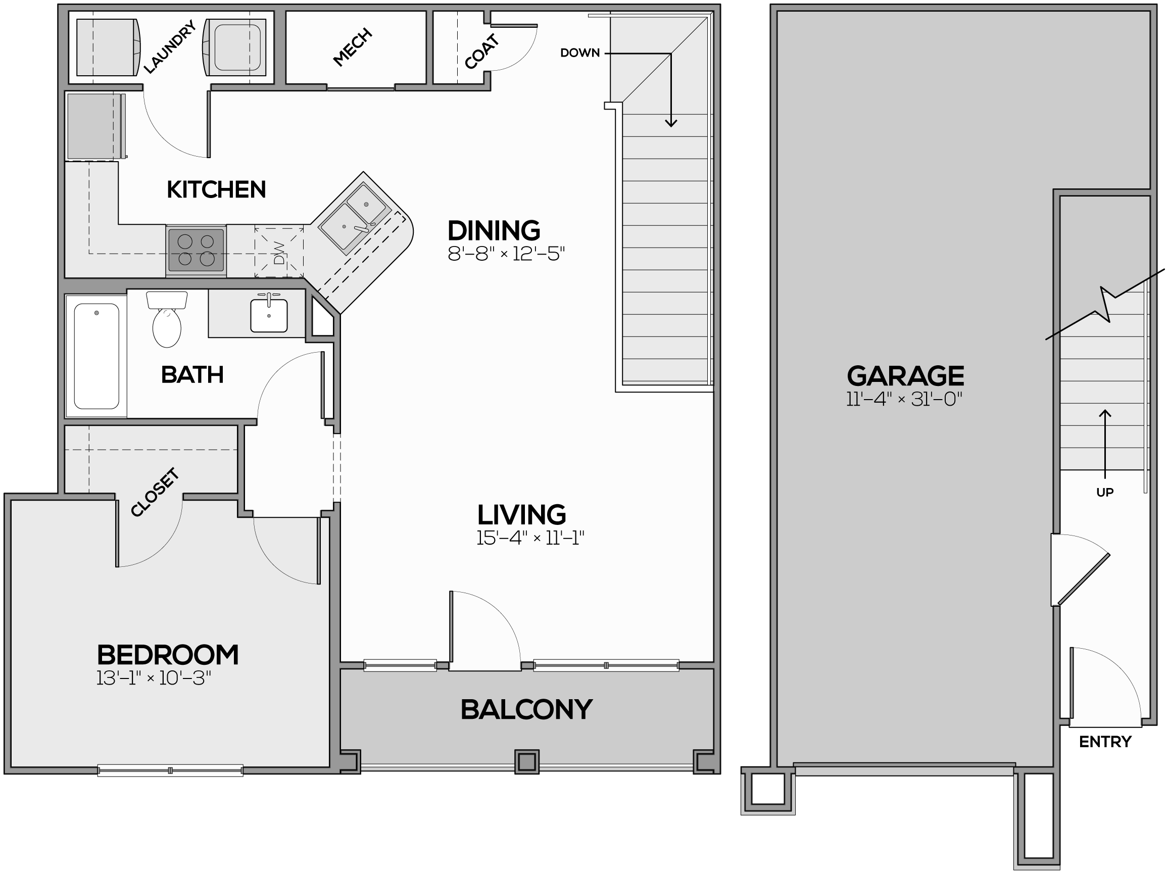 The Whitney Floor Plan