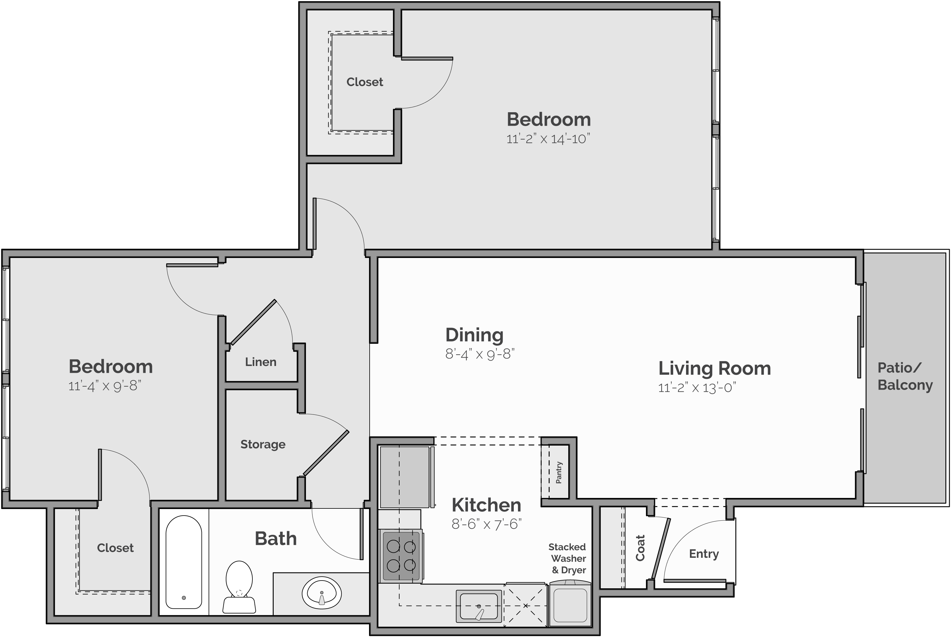The Cascade Floor Plan