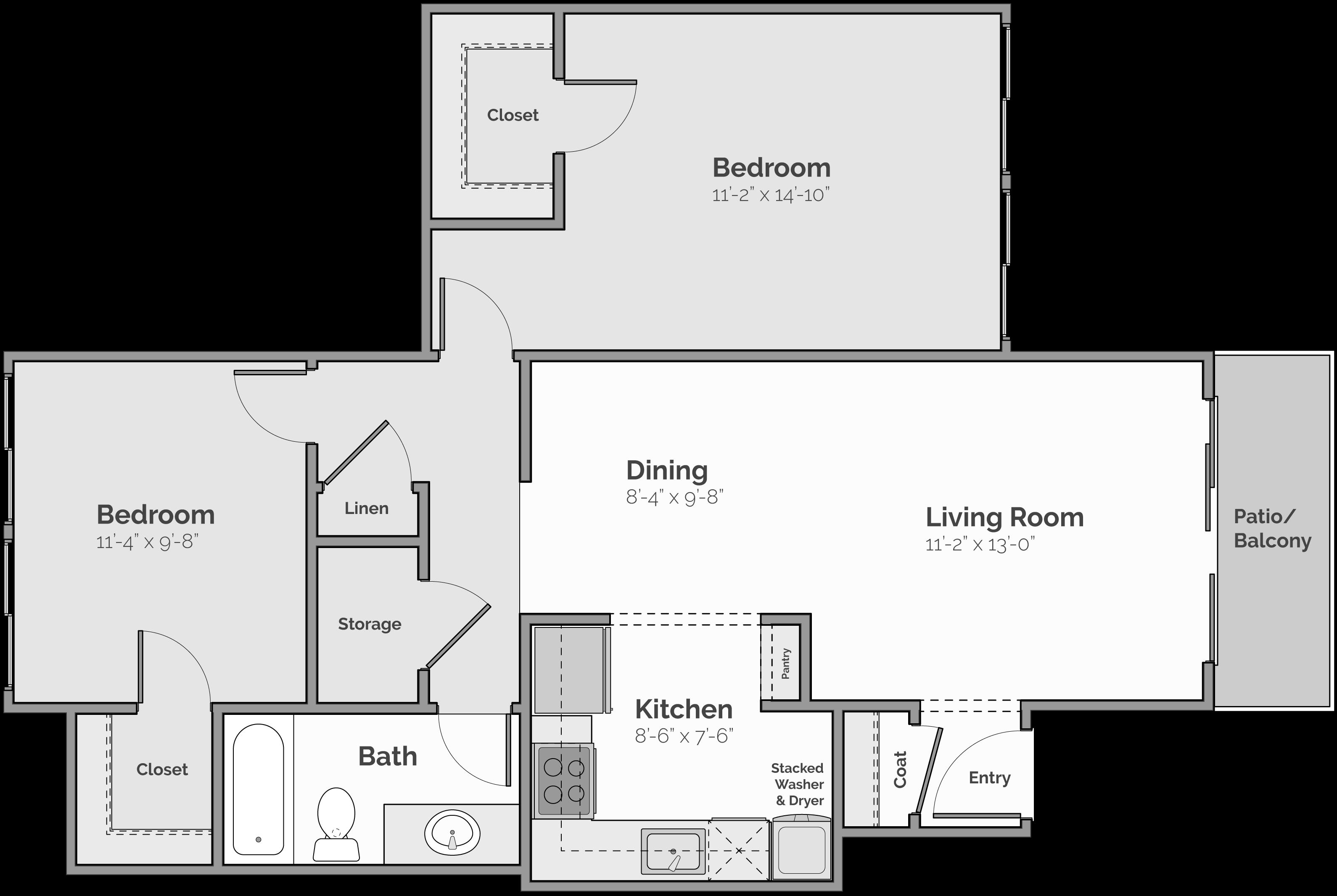 The Cascade Floor Plan