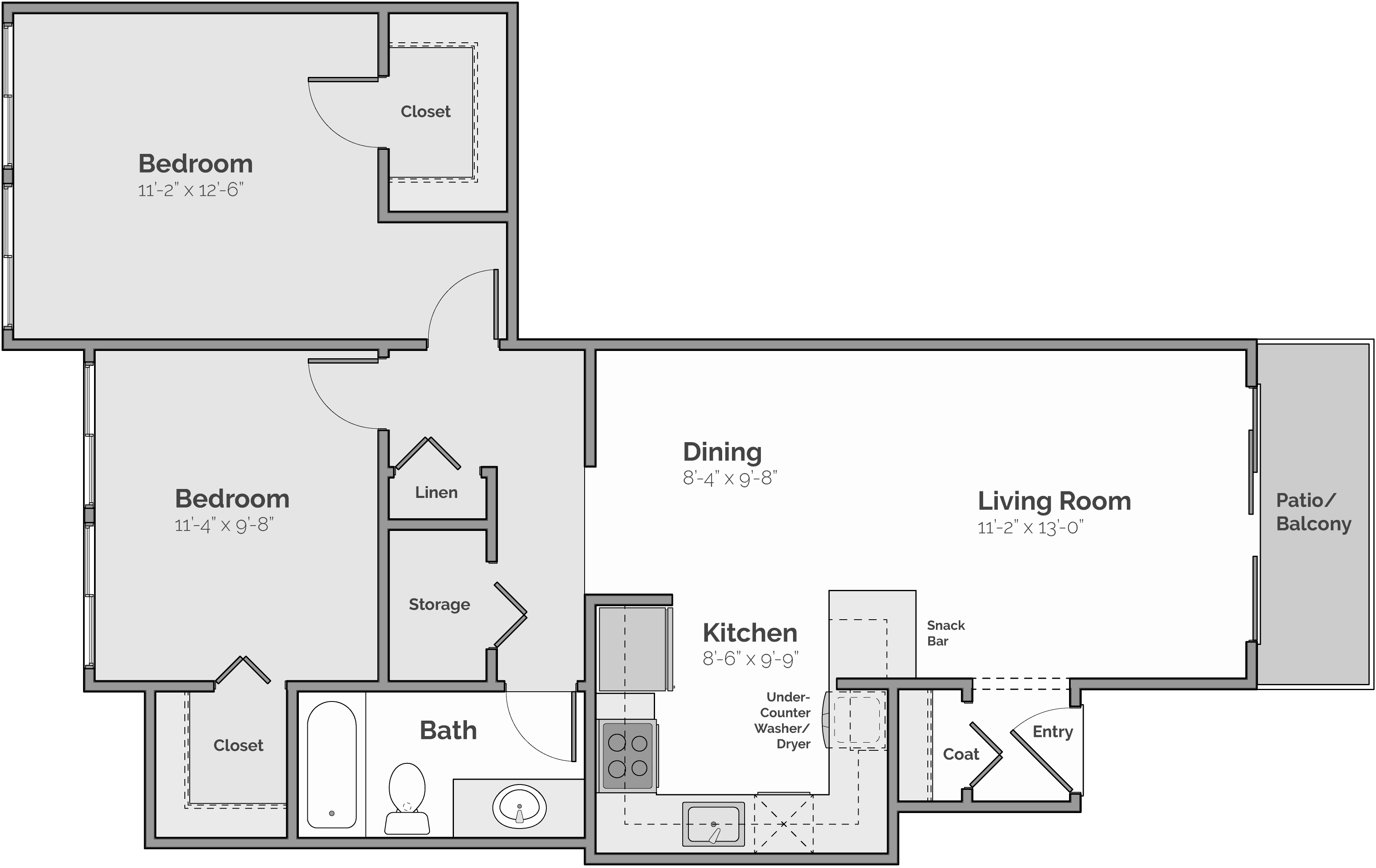 The Dakota II Floor Plan