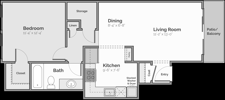 The Vista Floor Plan