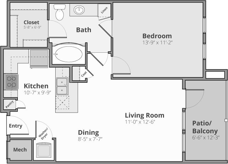 The Apex Floor Plan