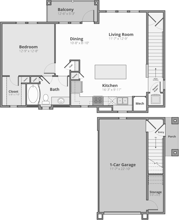 The Crest Floor Plan