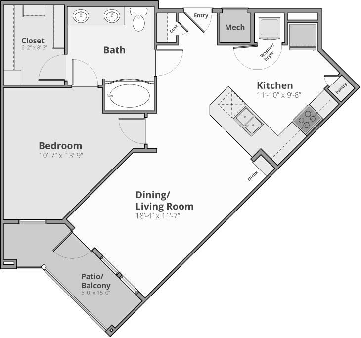 The Zenith Floor Plan