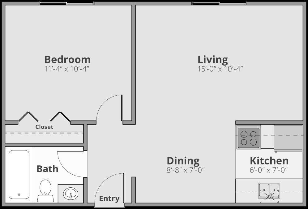The Henry Floor Plan